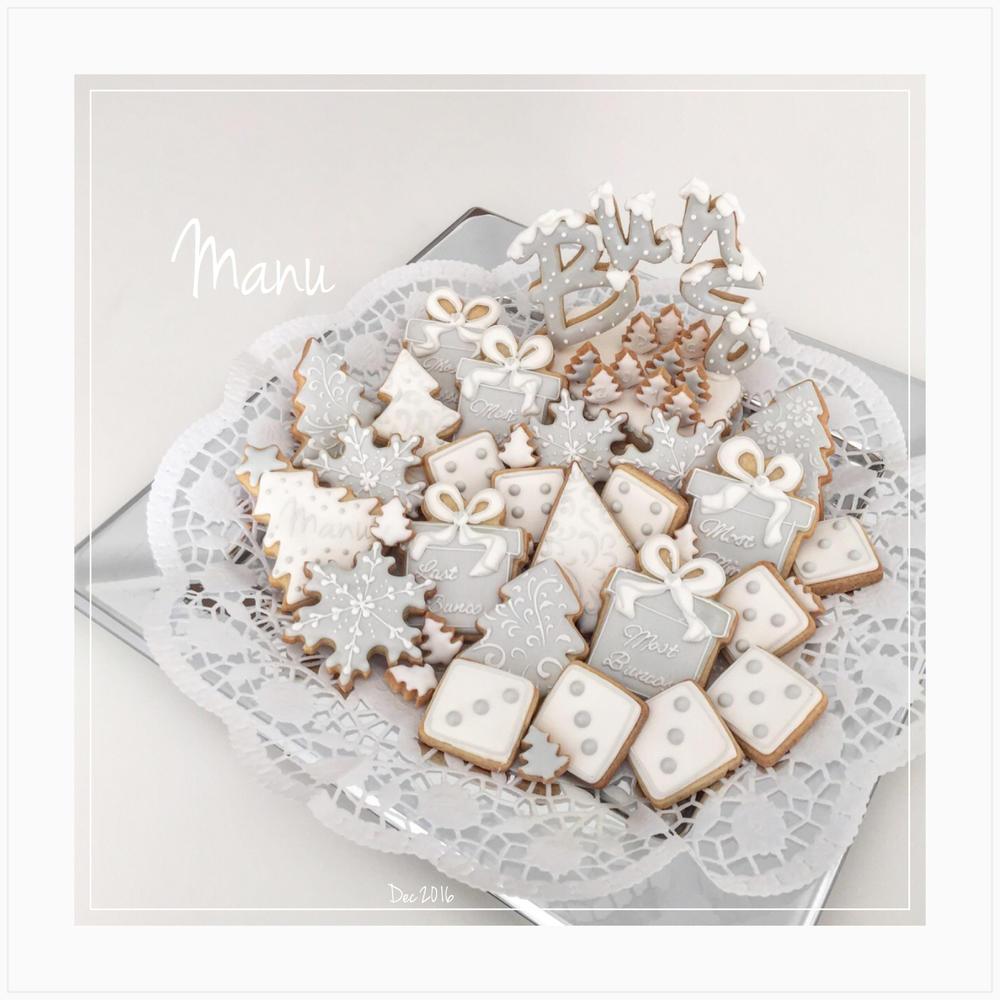Winter-Themed Bunco Night Cookies| Manu