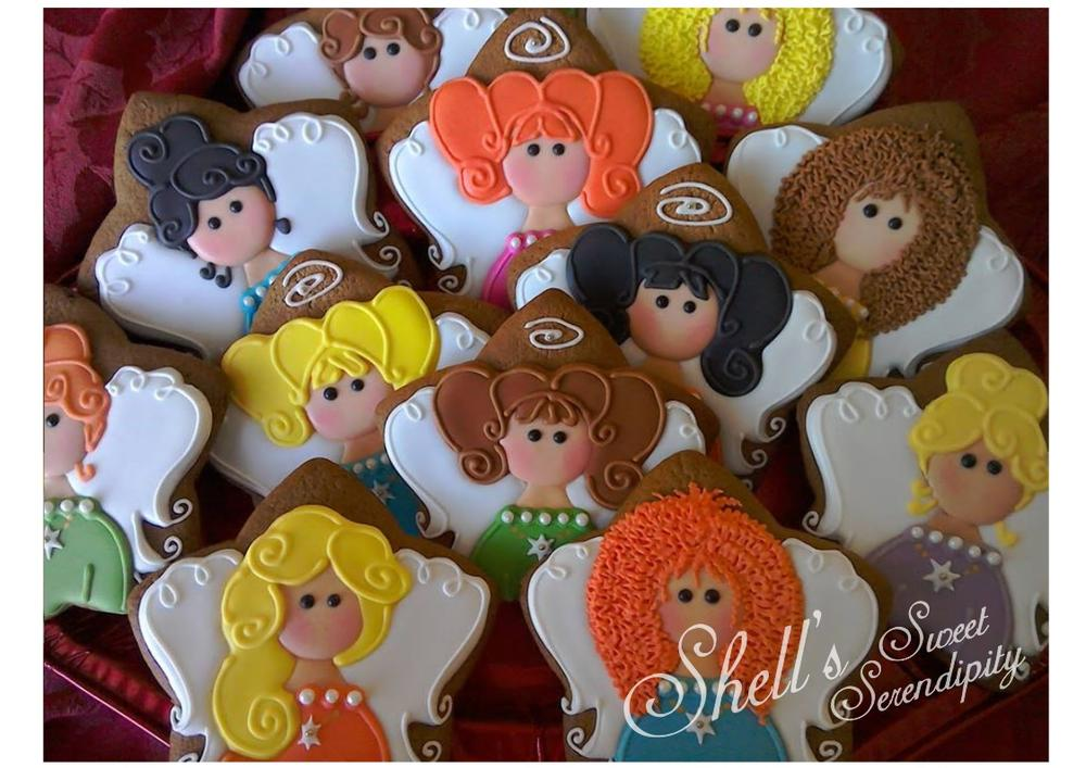 Christmas Angel Cookies By Shell S Sweet Serendipity Cookie Connection