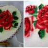 Róże na pierniku