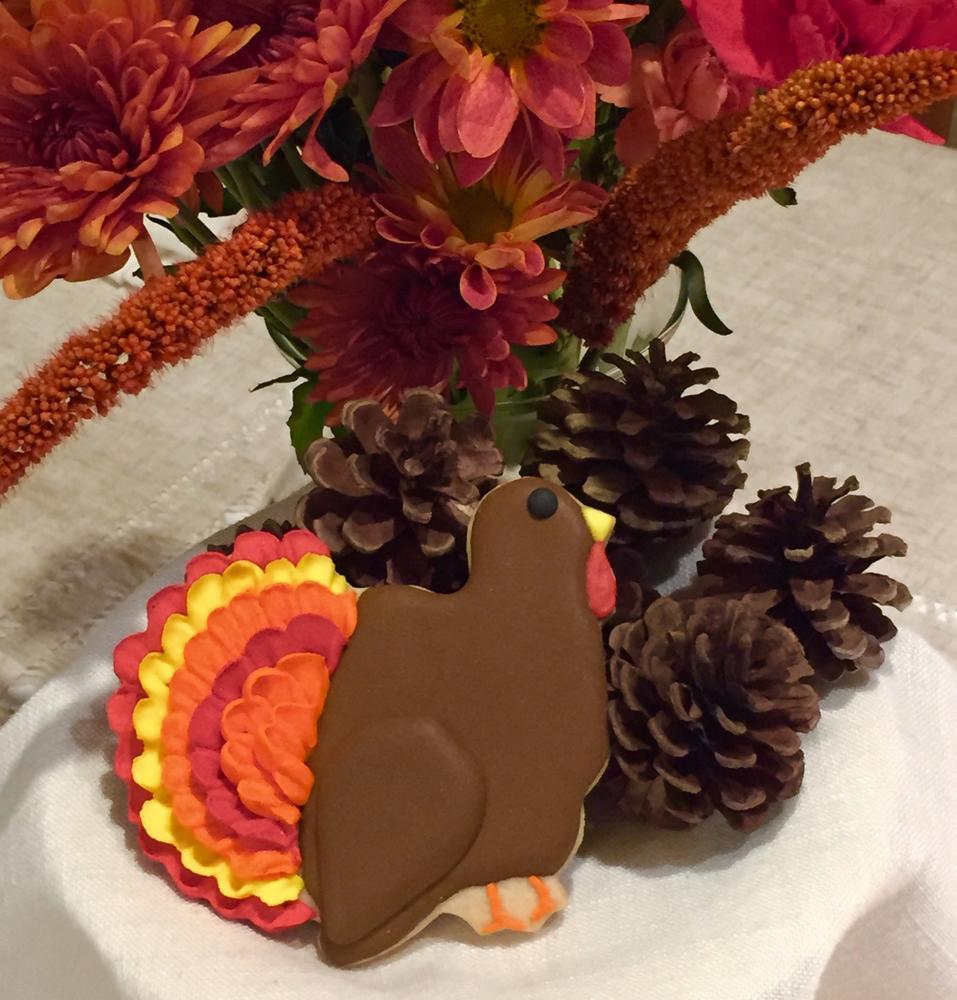 1 Lone Turkey Left  ~Judy Hannon~  Dark Side Cookies