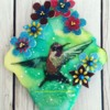 Hummingbird Frolicking by Cookie Alchemist