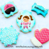 Ski Themed Cookies