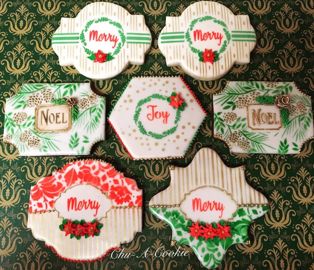 Christmas Plaque Cookies