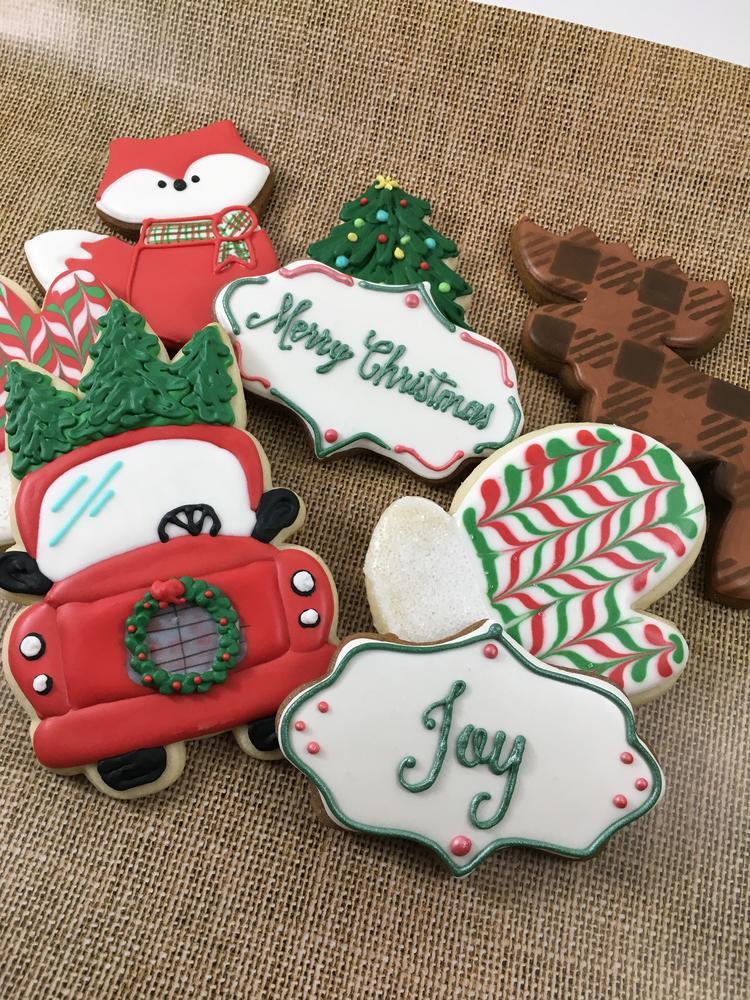 Woodland Christmas Cookies