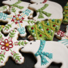 Christmas Cookies - Polar Bears, Snowflakes and Christmas Trees