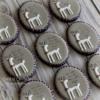 White Reindeer Cookies