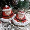 Christmas bell Santa's