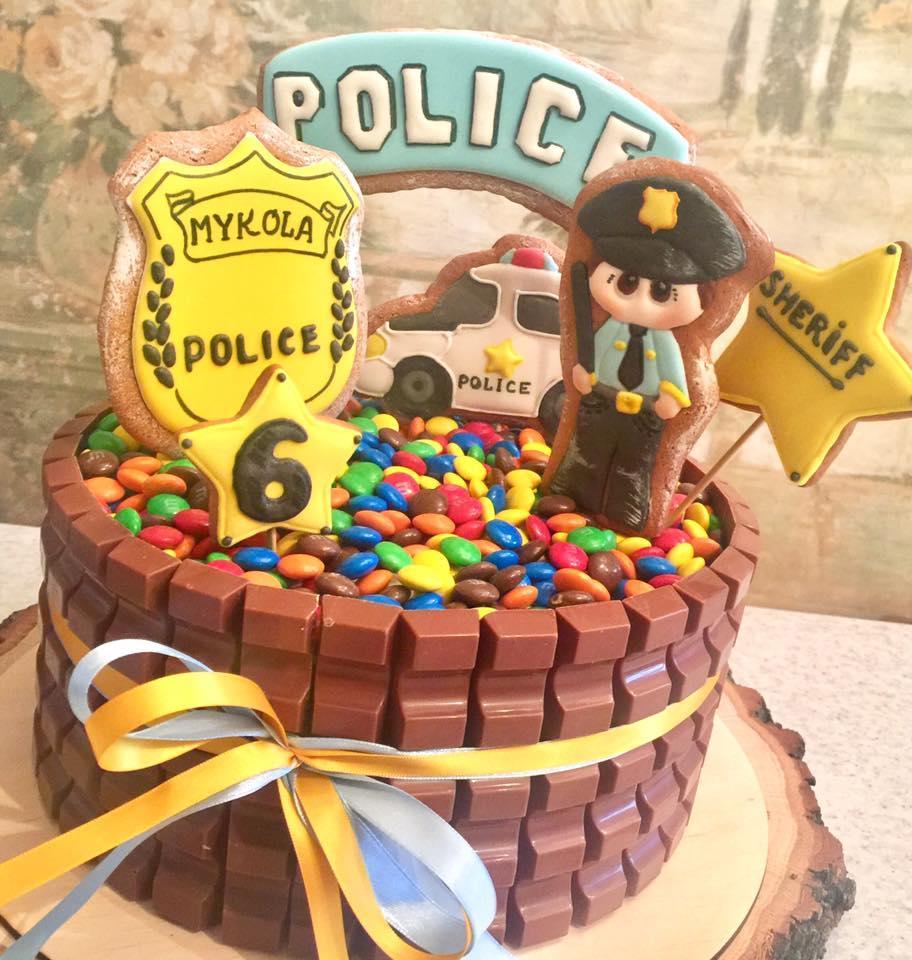 Little sheriff cake )