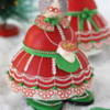 3-D Mrs. Claus Cookie