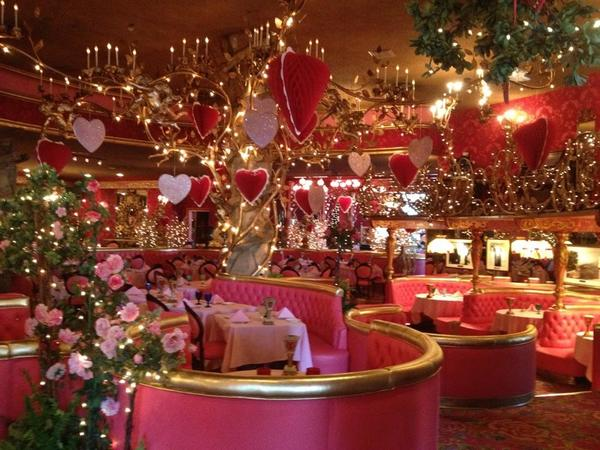 This is the Madonna Inn Steak House San Luis Obispo Ca.