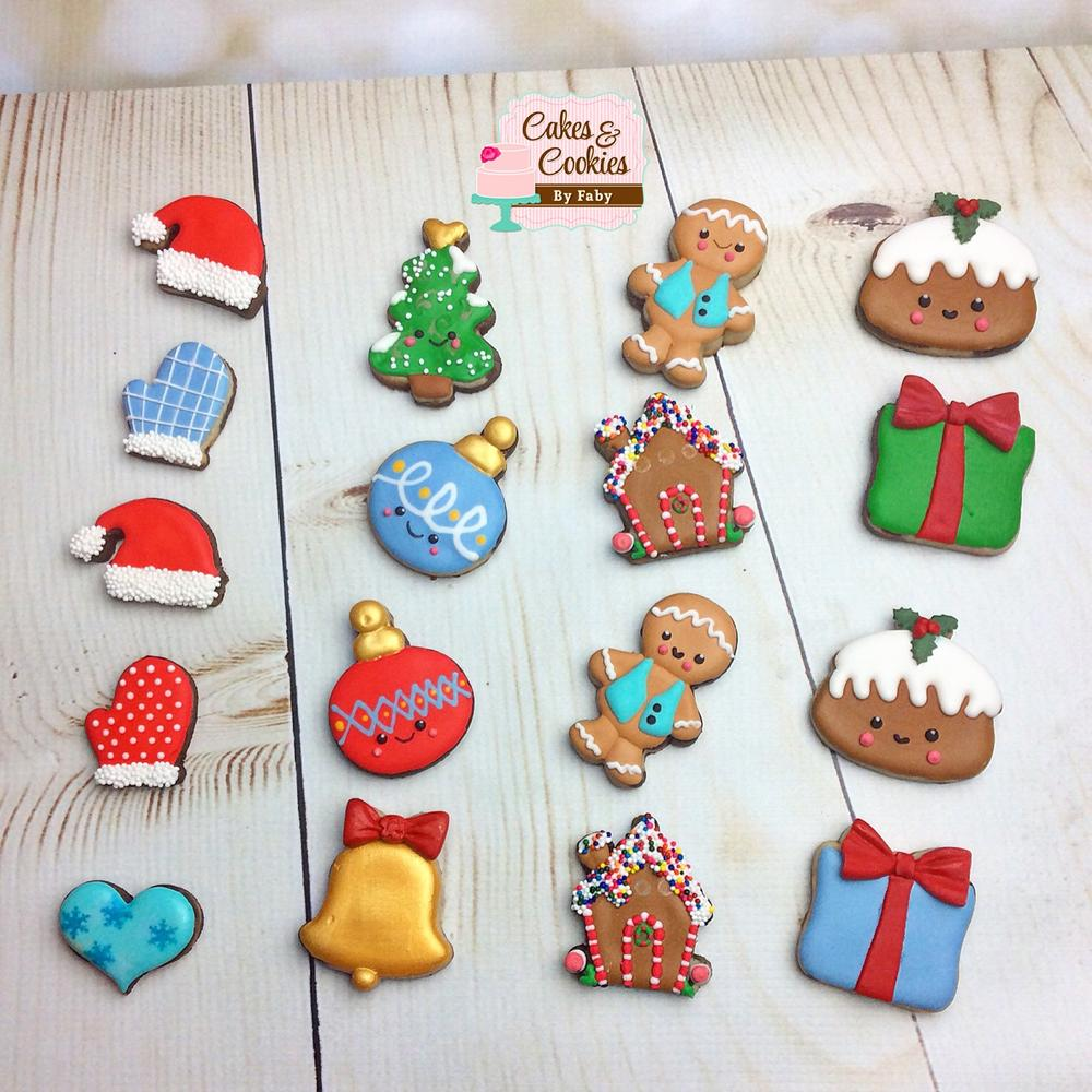 Mini Christmas cookies | Cookie Connection