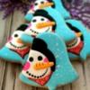 Snowman Winter Cookies