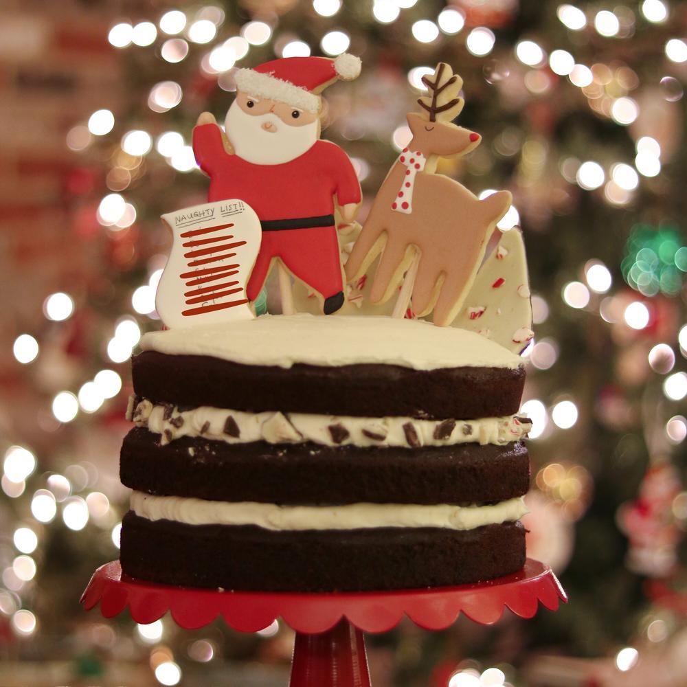 Naughty List Christmas Cookies