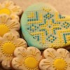Ukrainian embroidered cookies