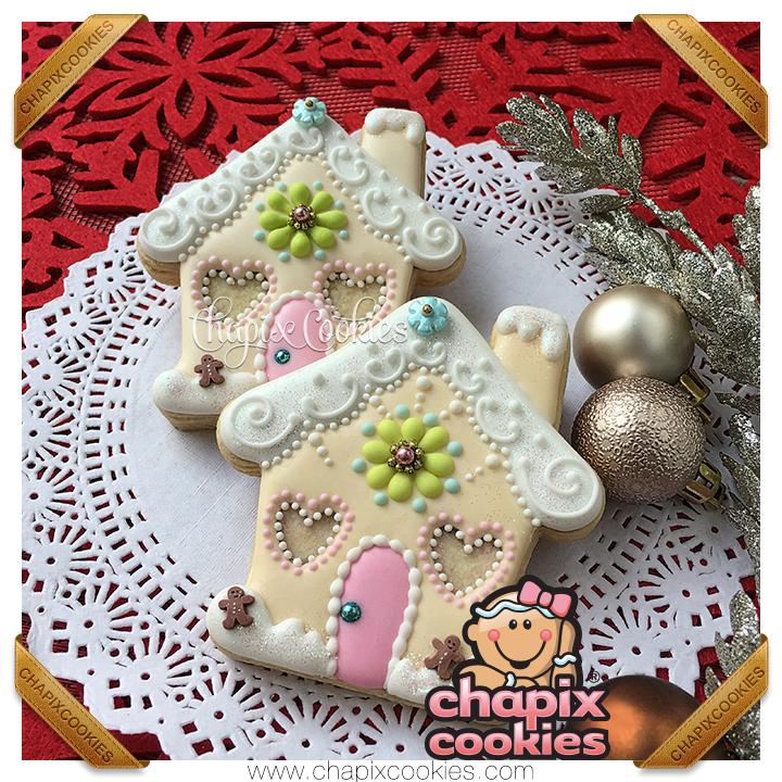 Basic Gingerbread Houses (Detail)