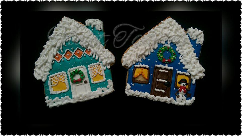 Winter House Cookies