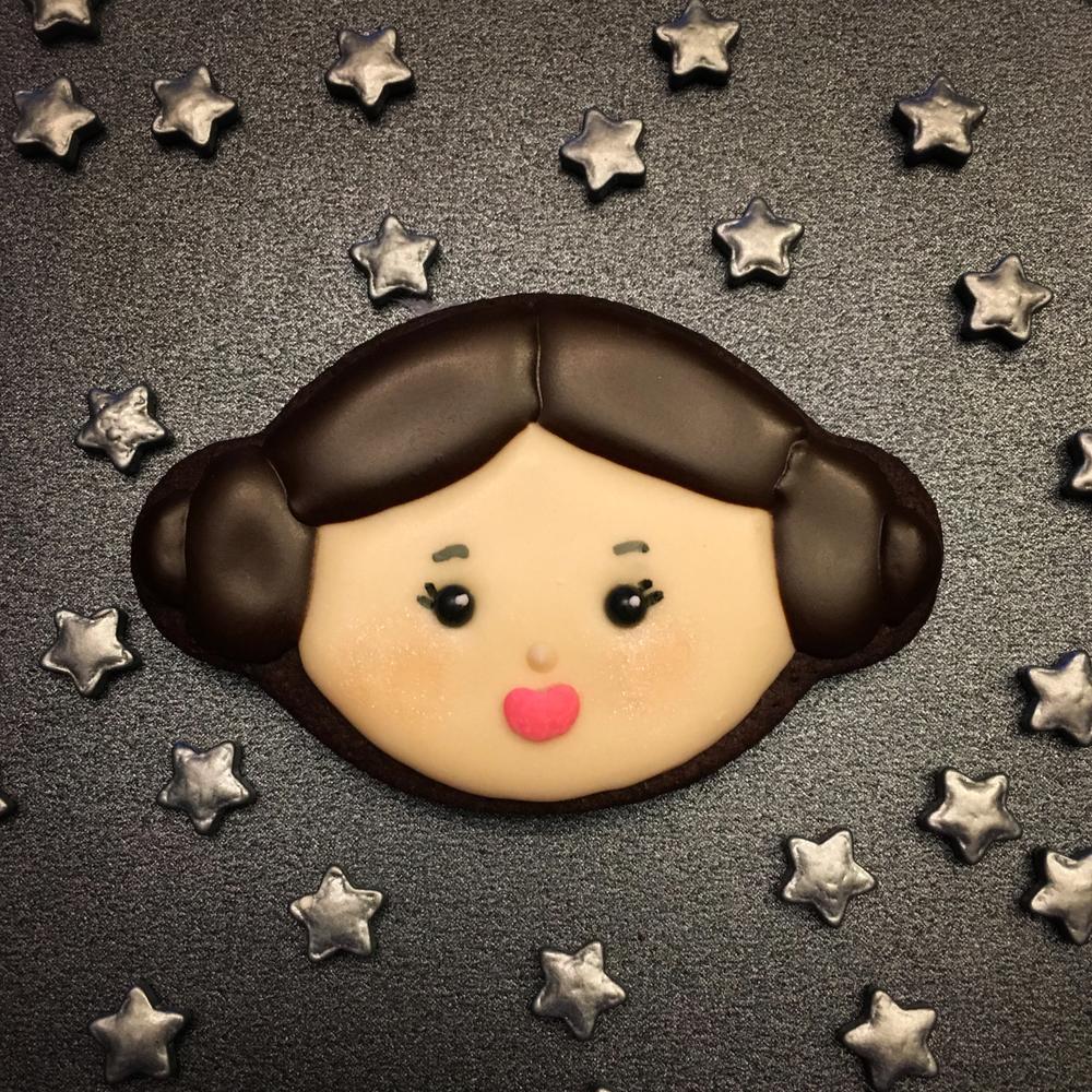 Princess Leia Cookie