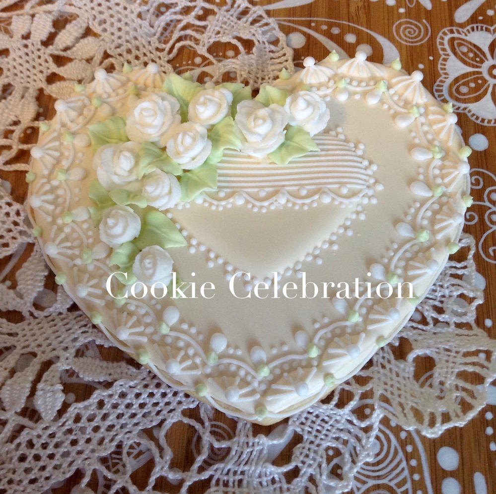 Wedding Heart (Cookie Celebration)