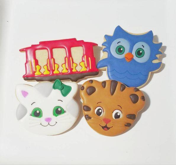 Daniel tiger cookies near me