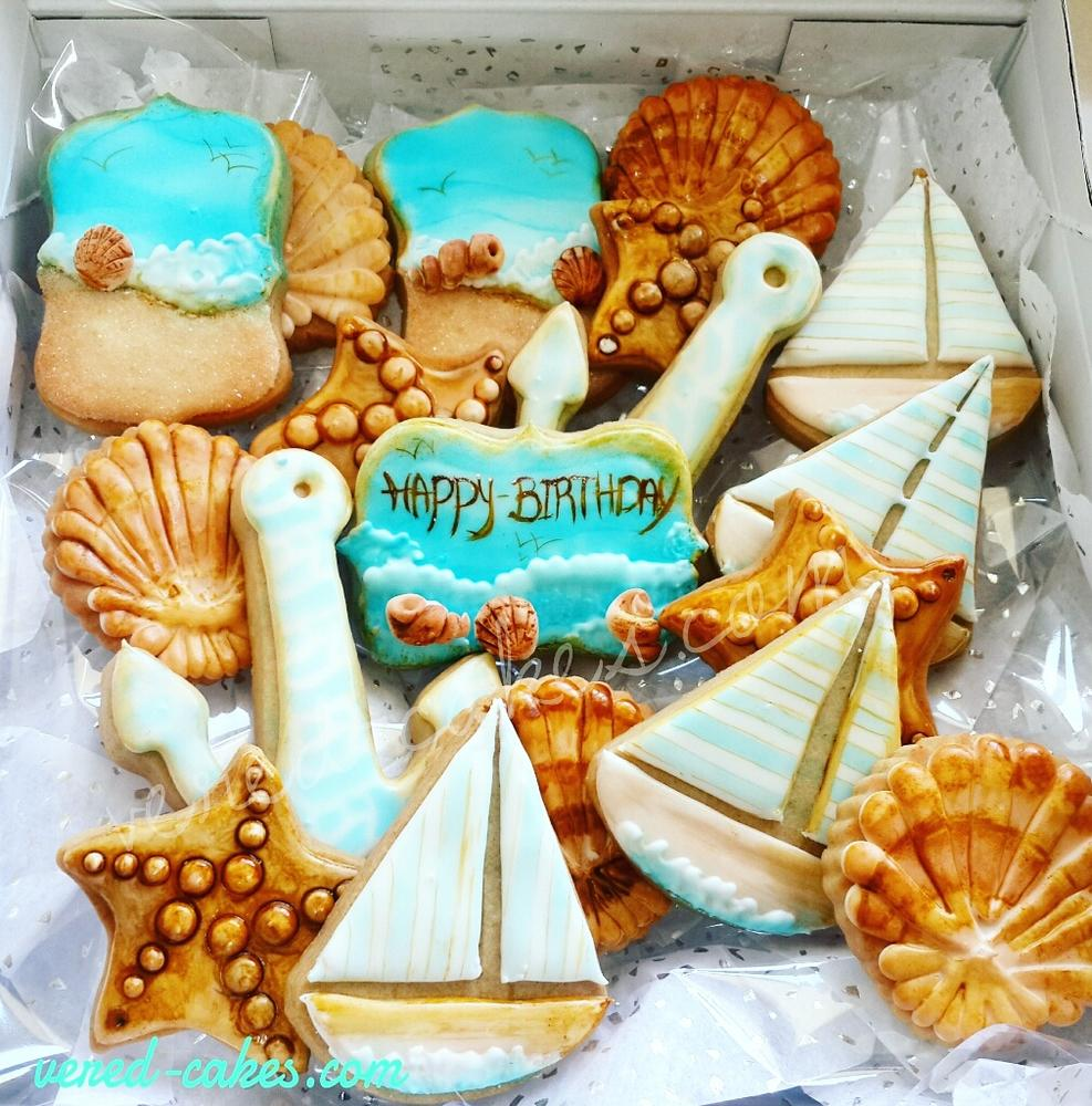 Sea-themed Cookie Set - 2017