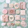 Lacy Valentine Cookie Set