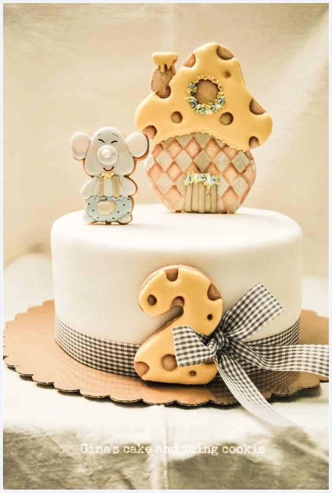 Cake Dressed Cake