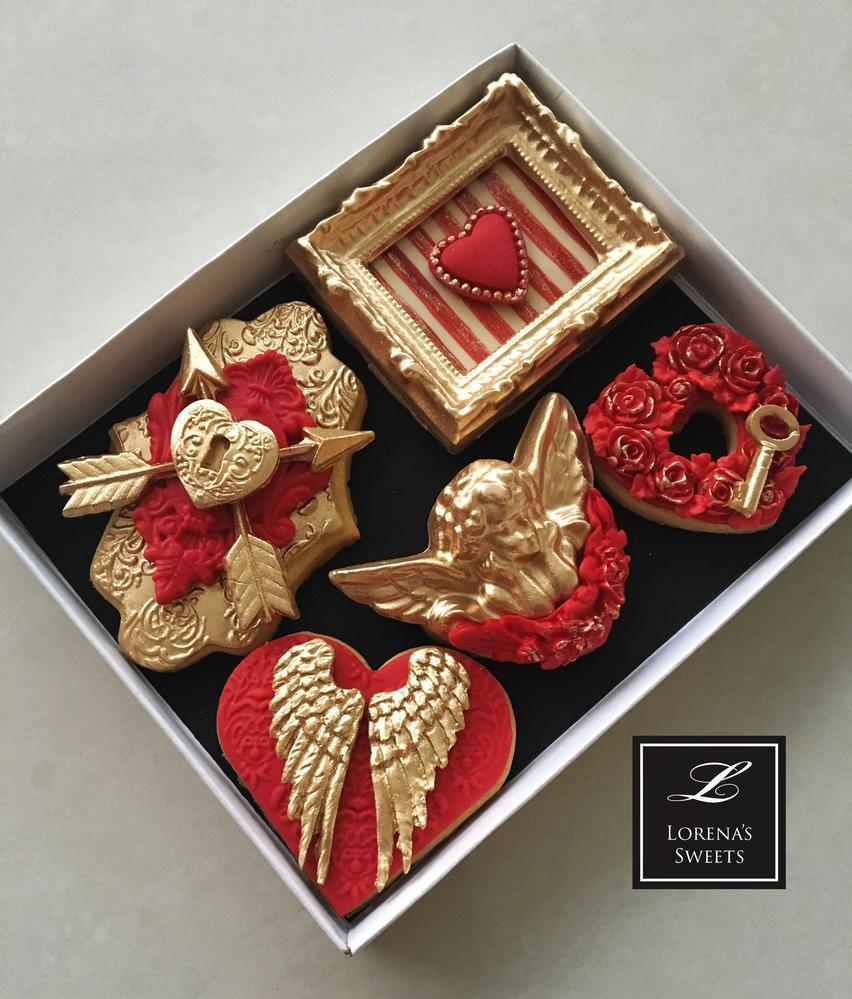 Lorena Rodríguez. Valentine's cookies .