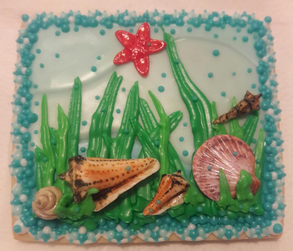 Seashell Cookies 1