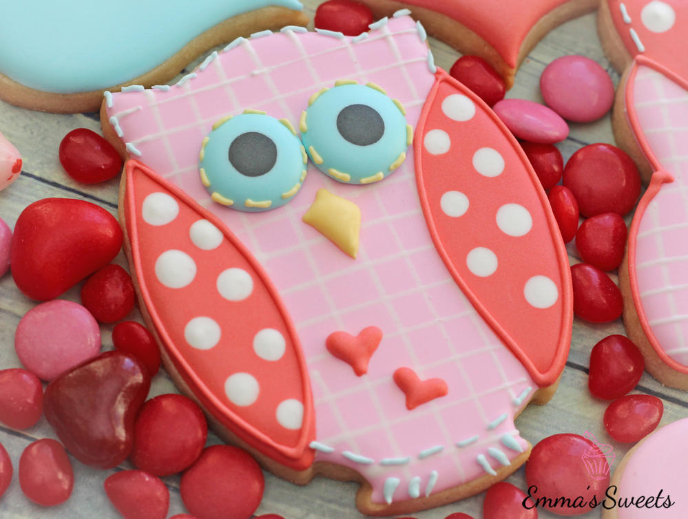 Valentine's Day Owl by Emma's Sweets