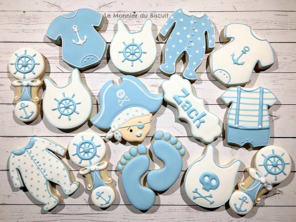 Pirate Baby Shower - Le Monnier du Biscuit