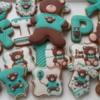 Teddy bear birthdayboy cookies