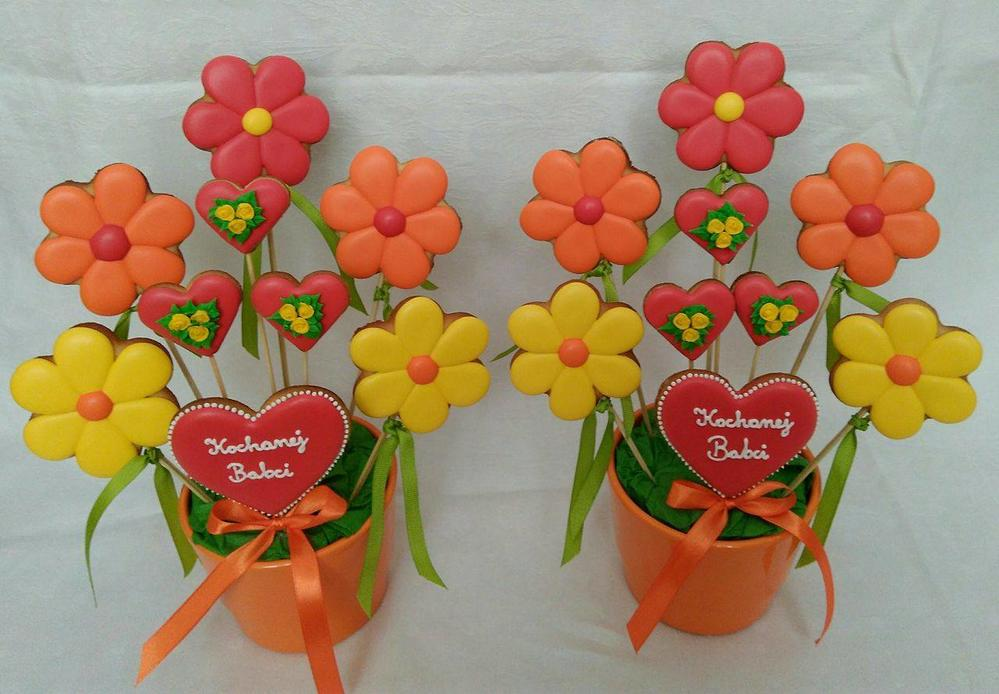 Grandmother's Day cookie bouquets