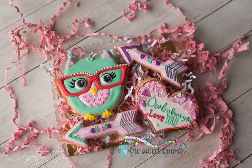 The Sweet Crumb Valentines Owl