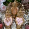 Antique Keepsake Collection pink perfume bottles