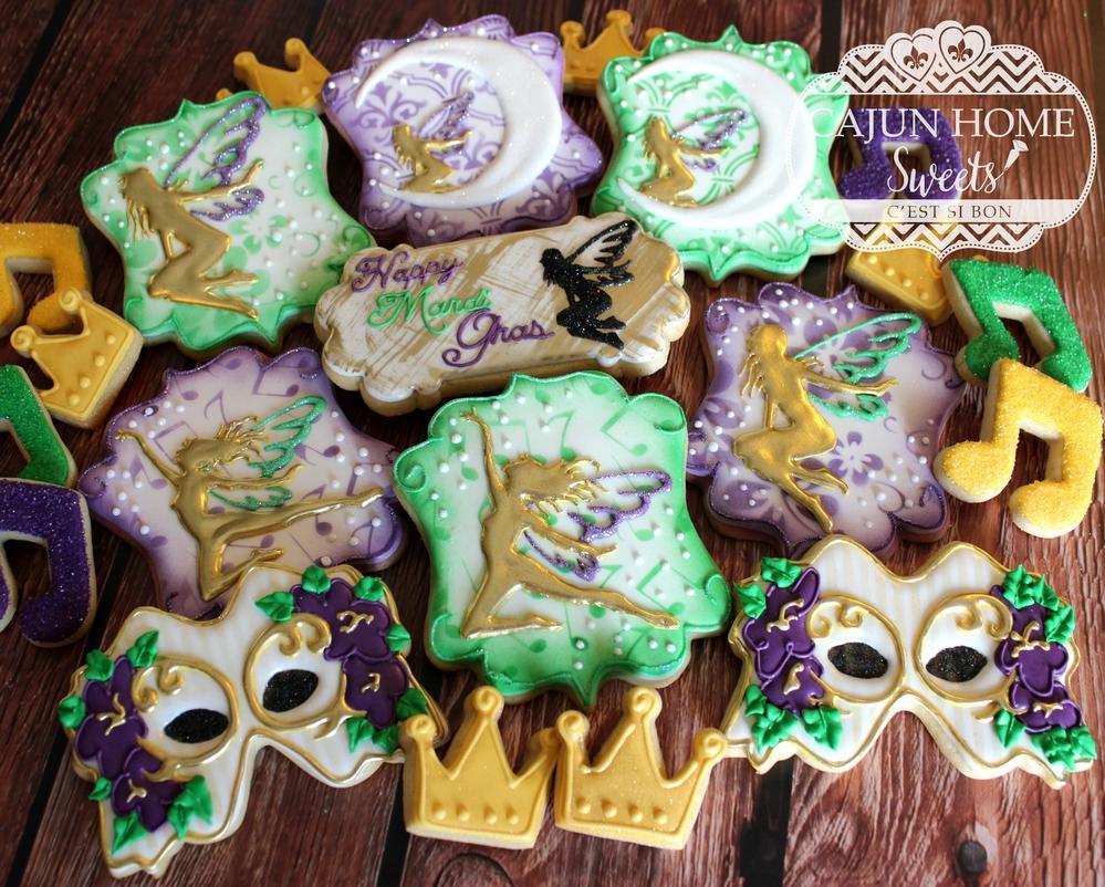 Fairy Mardi Gras set
