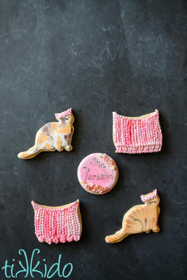 Feminist, Pussy Hat Cookies