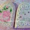Needlepoint Hearts (Cookie Celebration)