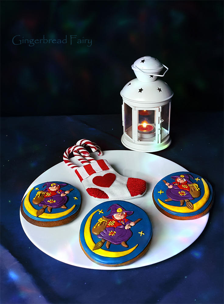 Befana gingerbread cookies