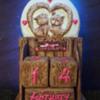 Vintage Gingerbread Perpetual Calendar