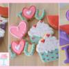 Valentines cupcakes cookies