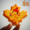 Autumn Leaf Cookie