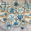Dutch Delft Cookies