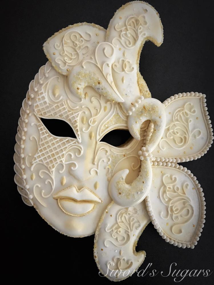 Carnival Mask Cookie