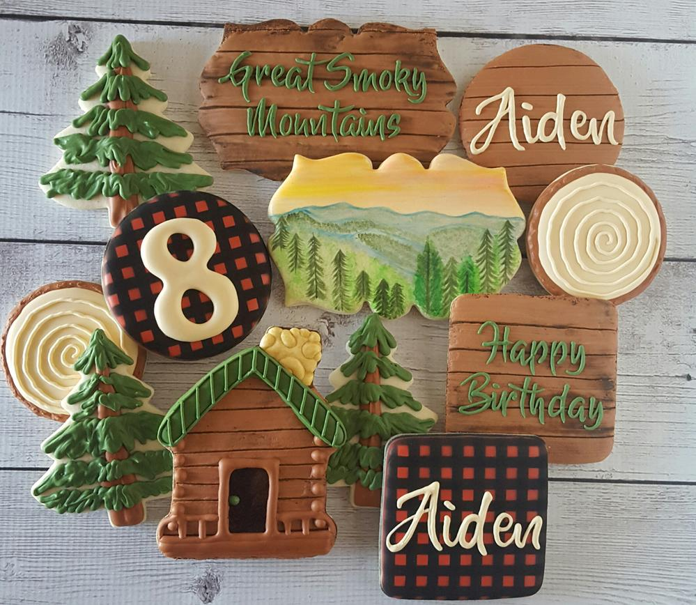 A Smoky Mountain Birthday Cookie Connection