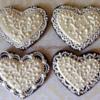 Ivory Hearts (Cookie Celebration)