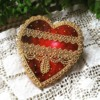 Needlepoint and lace Valentines