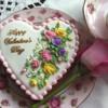 Tea Roses Cookie
