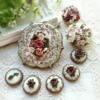 Various roses cookies