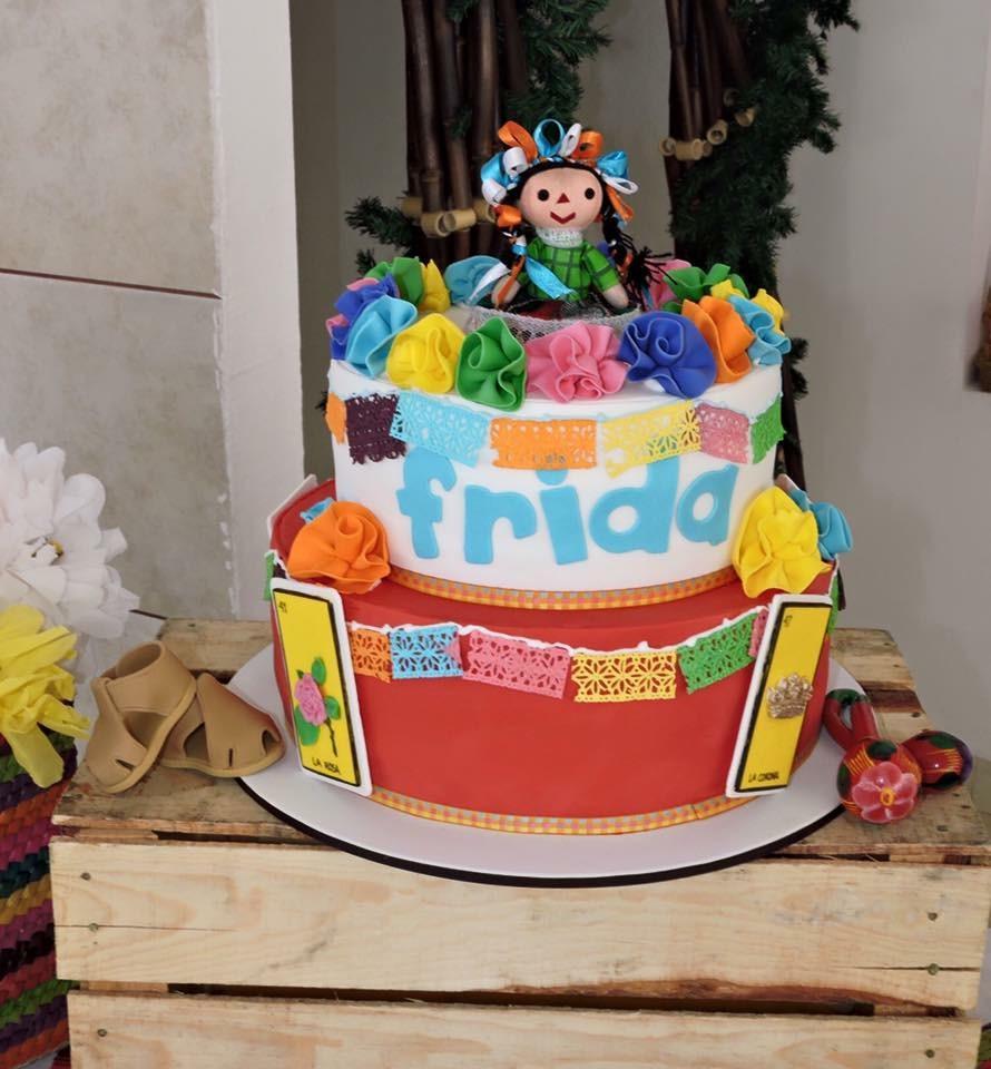 Frida's  baptism cake