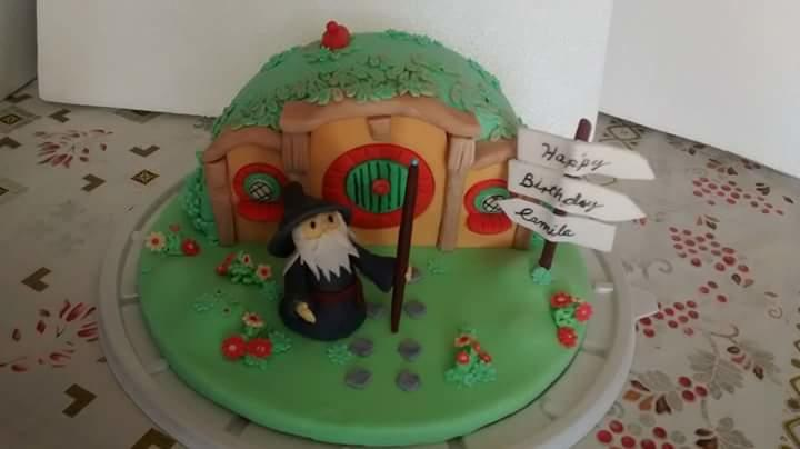 The Hobbit Birthday Cake